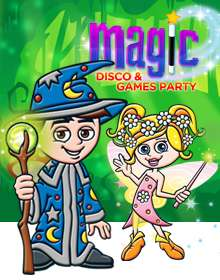 Magic, Disco & Games Party
