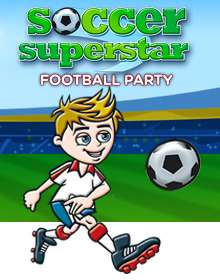 Soccer Superstar Football Party