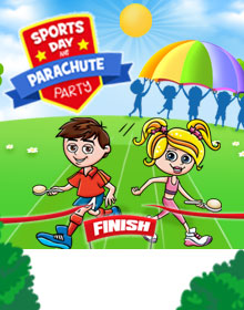 Sports Day And Parachute Party